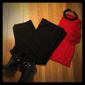 Black, Worthington, bootcut pants